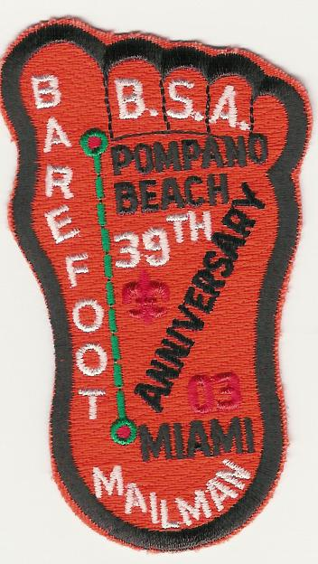 Barefoot Mailman 2003 Patch