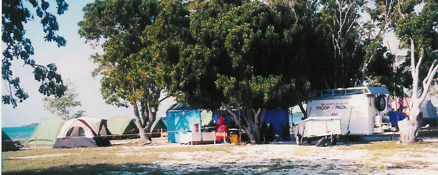Crew 485 Campsite
