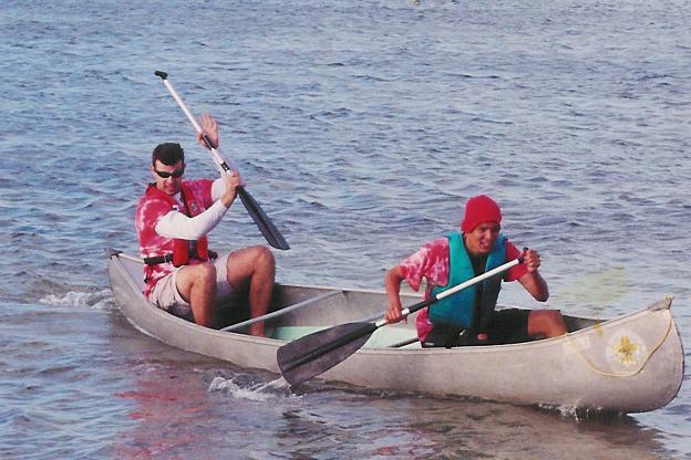 Canoe race.