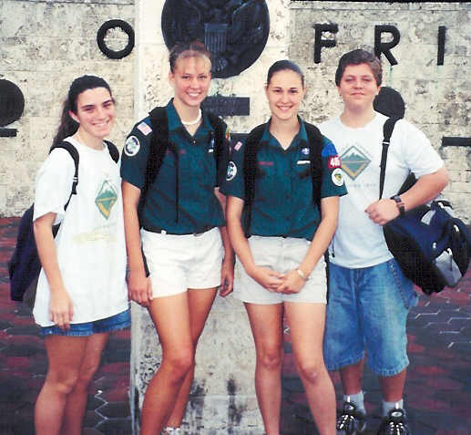 "2001 Old Cutler Hike ""Crew 485"""