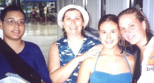 Rapids Waterpark July 2001